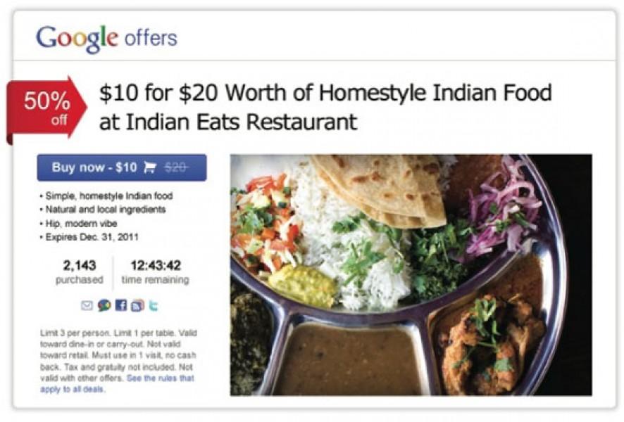 Google sfida Groupon con Google Offers