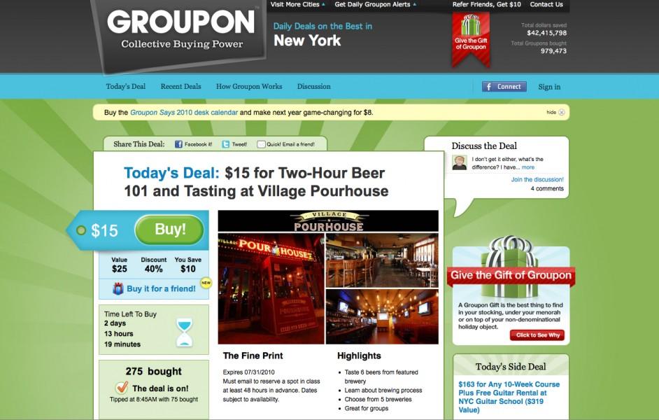 Groupon vs LivingSocial, a colpi di coupon