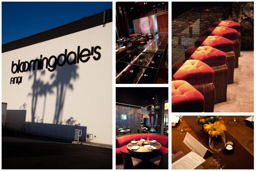 A cena da Bloomingdale's