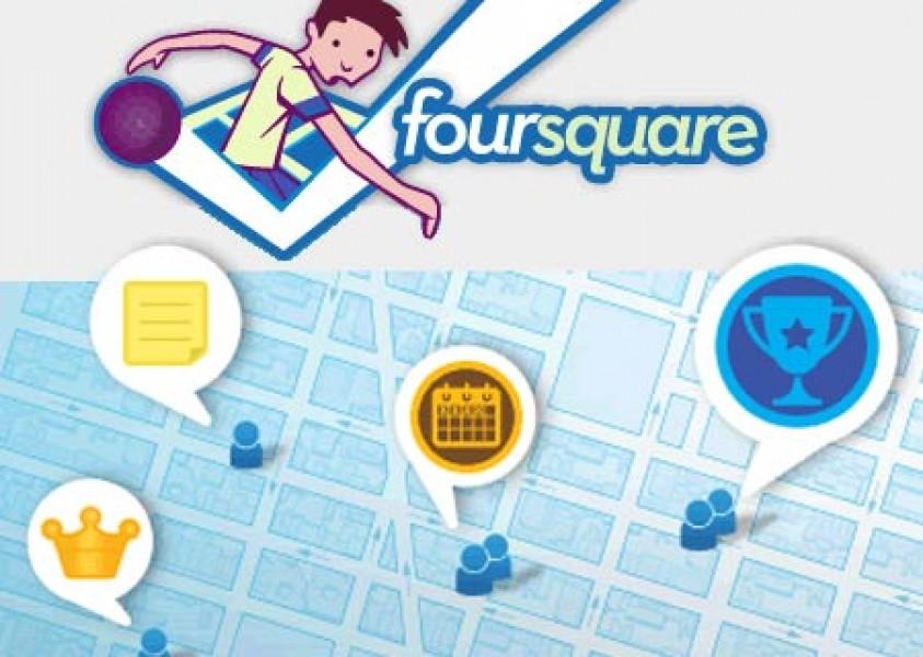 Foursquare: numeri da capogiro