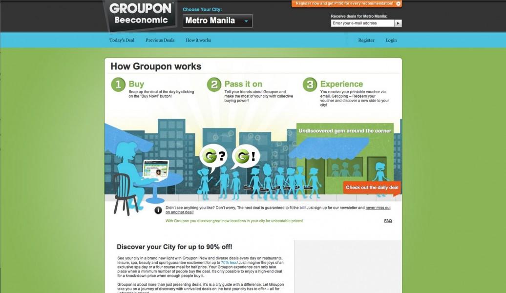 Groupon diventa un'applicazione mobile