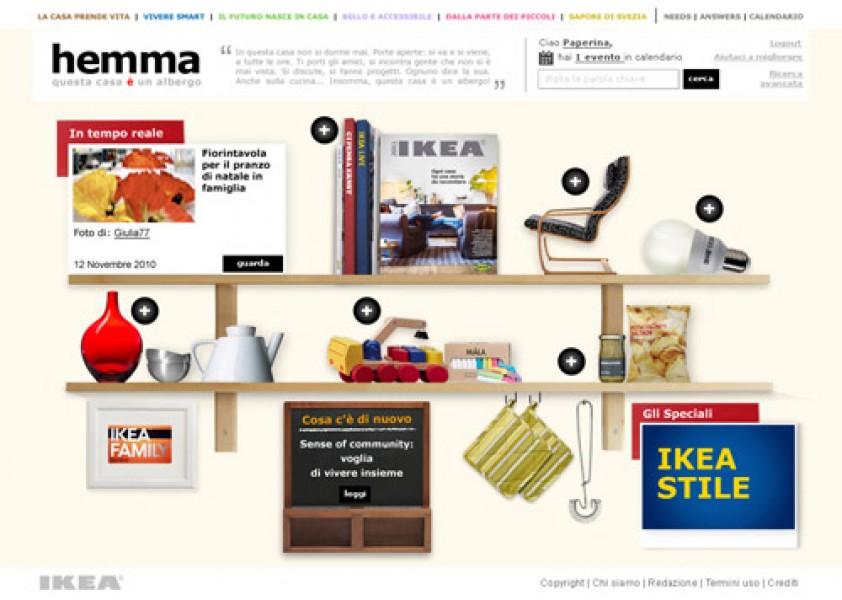 Ikea, dal catalogo alla community