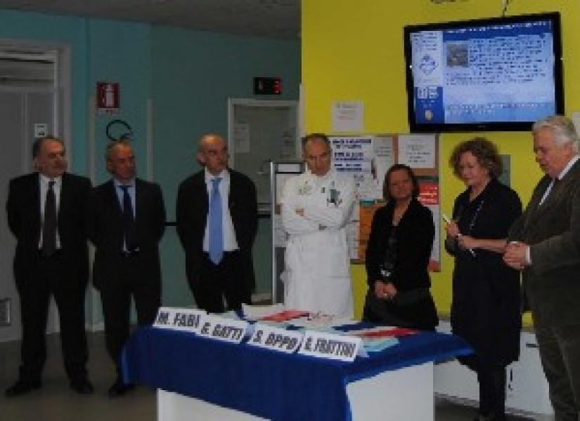 Digital Signage all'ospedale Santa Maria di Borgotaro
