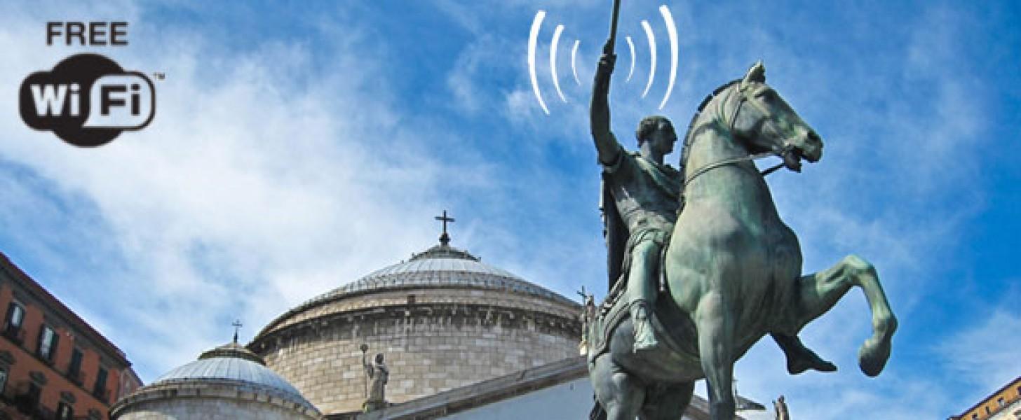 Wi-Fi: anche a Napoli arriva internet libero