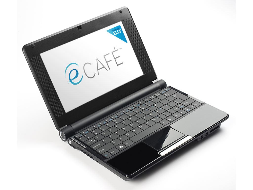 eCafé, tutto il gusto del netbook
