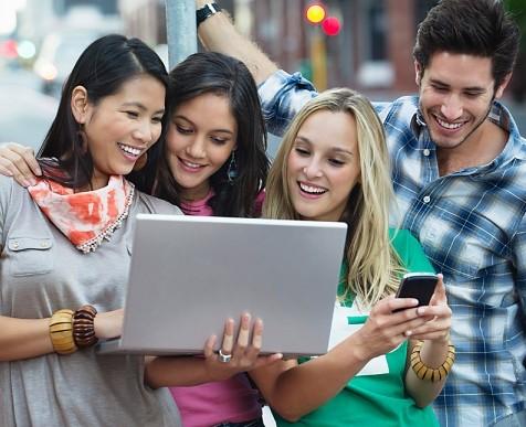 Savignano: il wi-fi è young