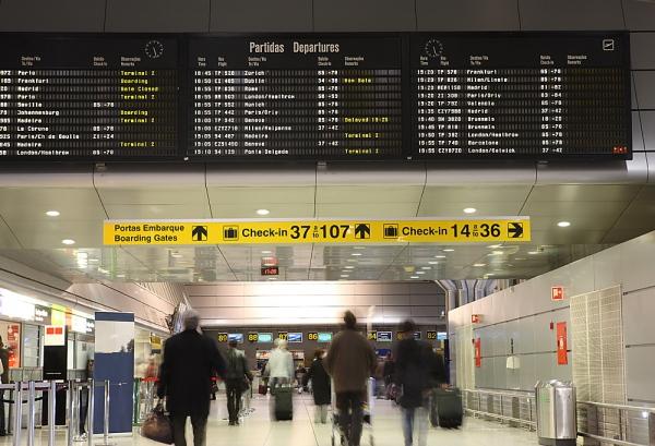 Quando l'attesa si fa interattiva – Digital Signage negli aeroporti