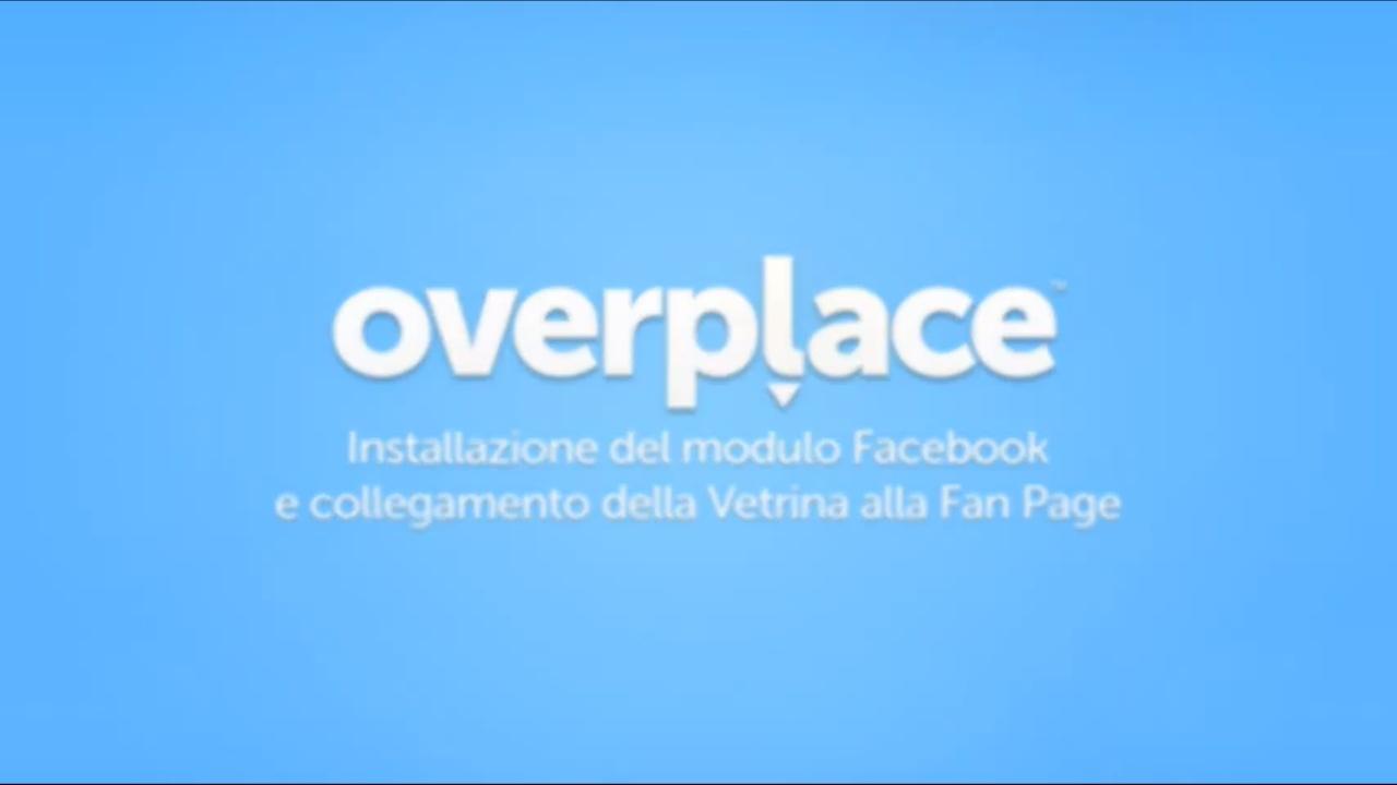 Overplace, ecco la novità: il modulo Facebook