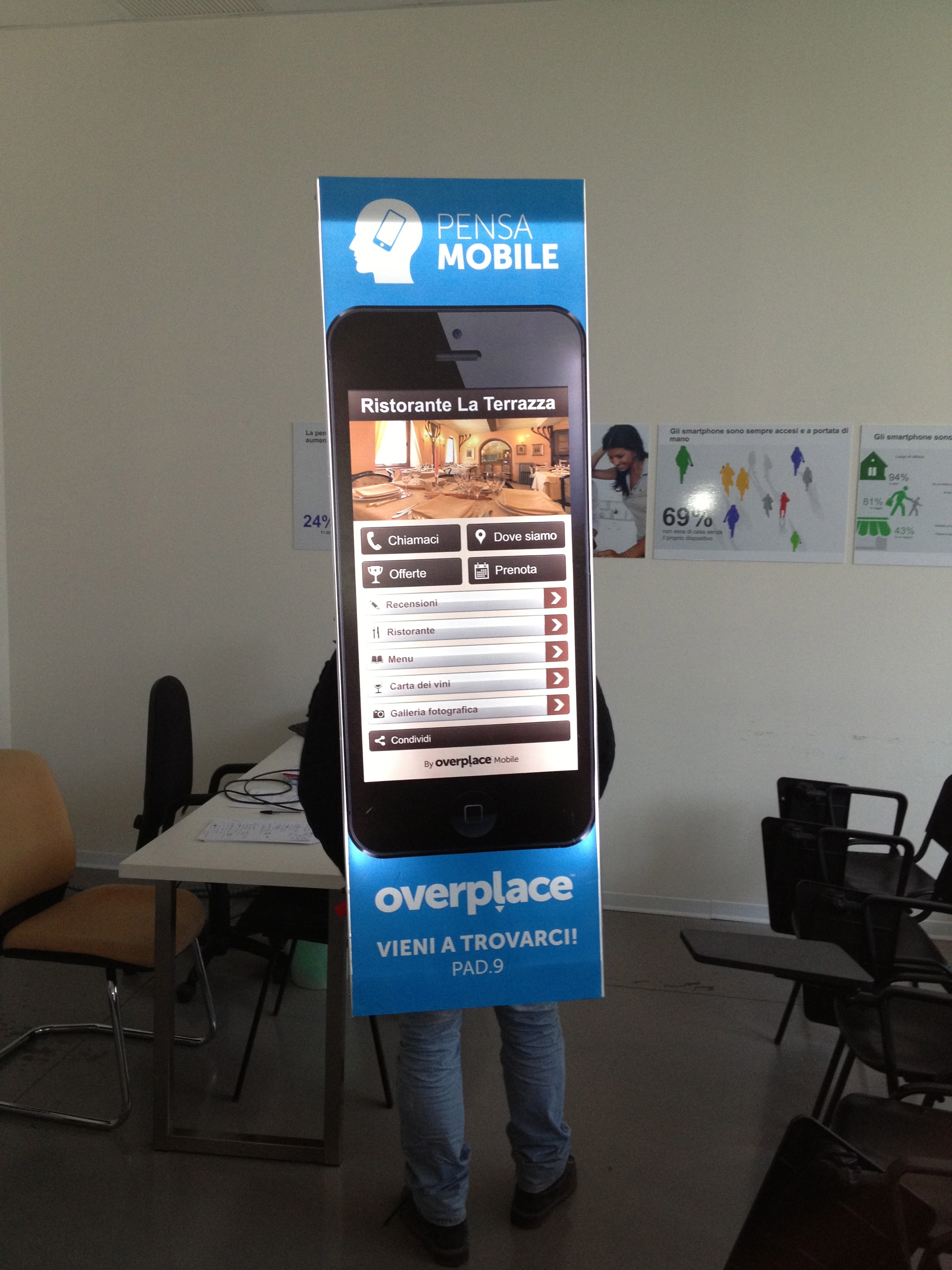 Overplace, ecco il Tour Pensa Mobile 2013