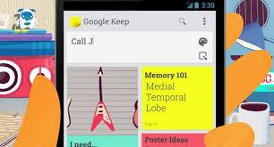 Google Keep è stato finalmente rilasciato