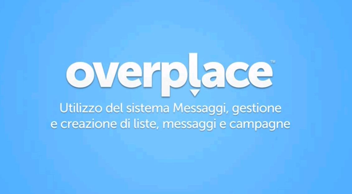 Il modulo messaggi di Overplace: cos'è e a cosa serve