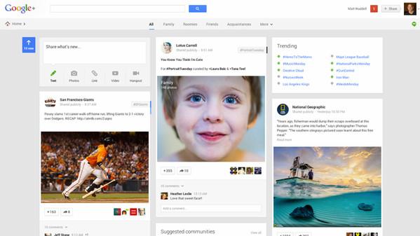 Google+, ecco le principali novità