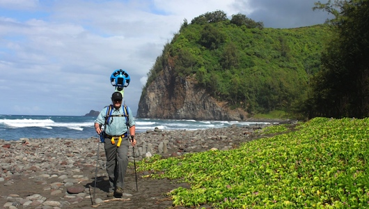 Google Street View alle Hawaii: tutti in vacanza con la tecnologia