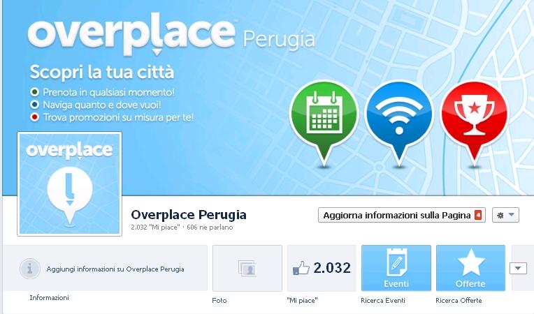 Overplace, grande successo per la pagina Facebook di Perugia