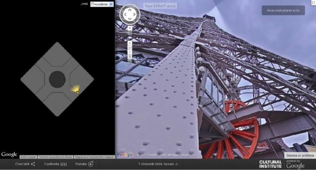 Google Street View conquista anche la Tour Eiffel