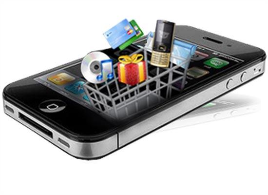 Smartphone volano per l'e-commerce