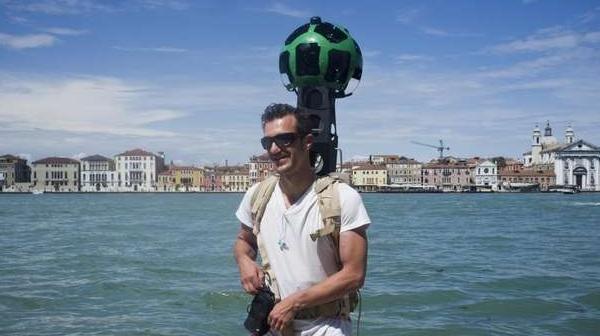Google Street view anche tra i Canali di Venezia