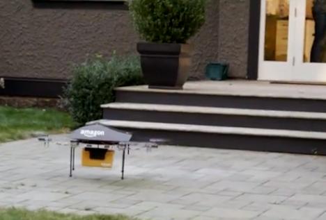 L'e-commerce del futuro: ci pensa Amazon con il mini drone