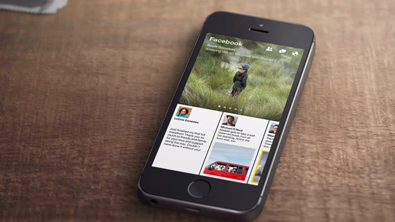 Facebook presenta Paper: inizia l'era delle news sui social
