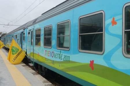 """Expo 2015: Il Treno Verde con lo slogan """"Nutrire il Pianeta"""""""