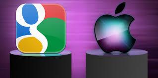 Le app, termometro della sfida Apple-Google